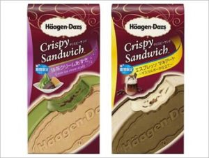 ハーゲンダッツ(クリスピーサンド)の味は2種類!発売日とカロリー1