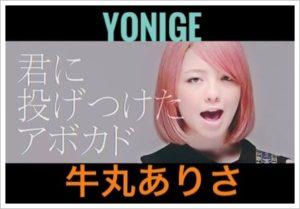 yonigeの牛丸ありさ(ギター)はハーフ?年齢や身長!高学歴彼氏が?2