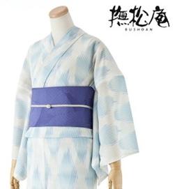 撫松庵(ぶしょうあん) 浴衣 幾何学